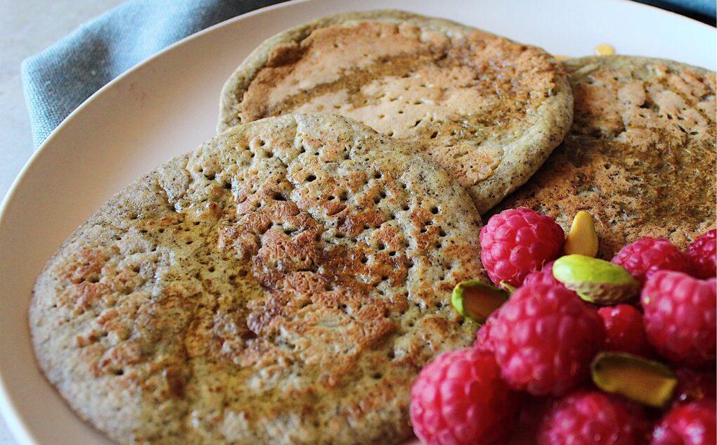 Pancakes farina di canapa